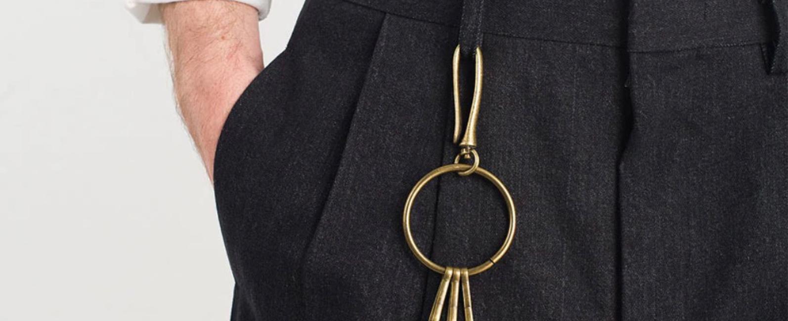 Men's Keyring / Keychain - Trending Now   VanityForbes