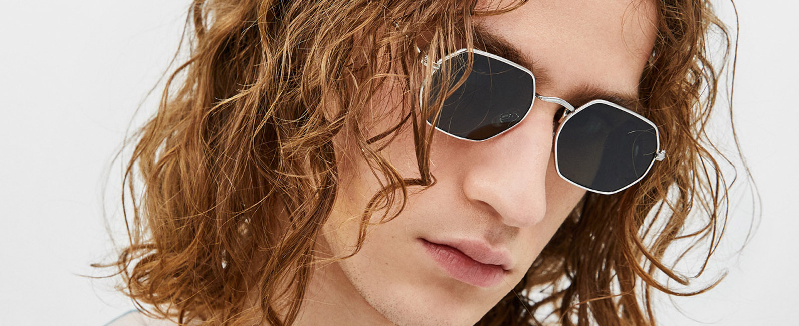 2ca746a99a On Trend  Hexagon Sunglasses
