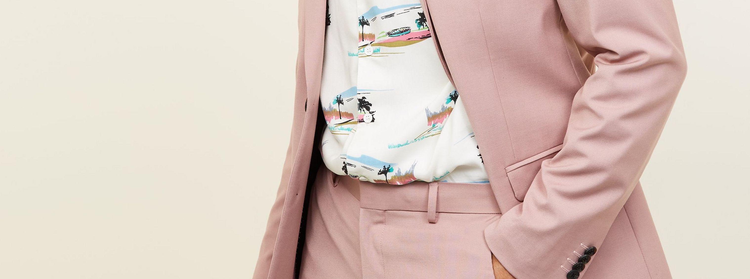 Trend Report: Pastel Suits | VanityForbes