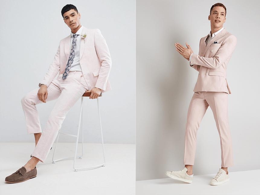 contemporary suit