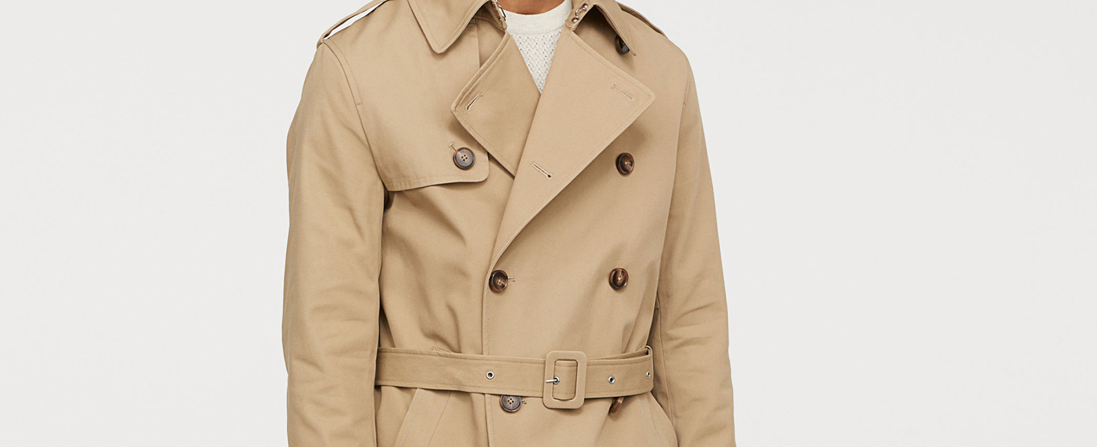 timeless design 5271f 1d5fc The Best Affordable Men's Trench Coats - Under £150 ...