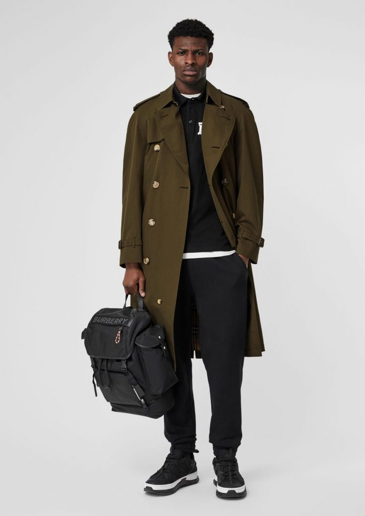 how to style a trench