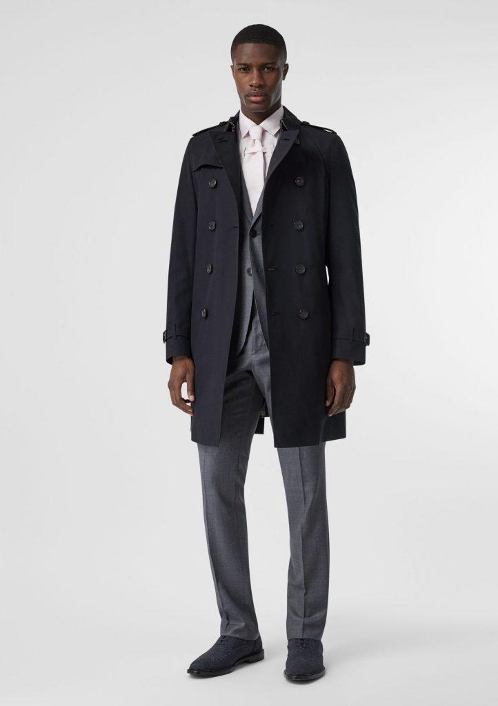wear trench coat