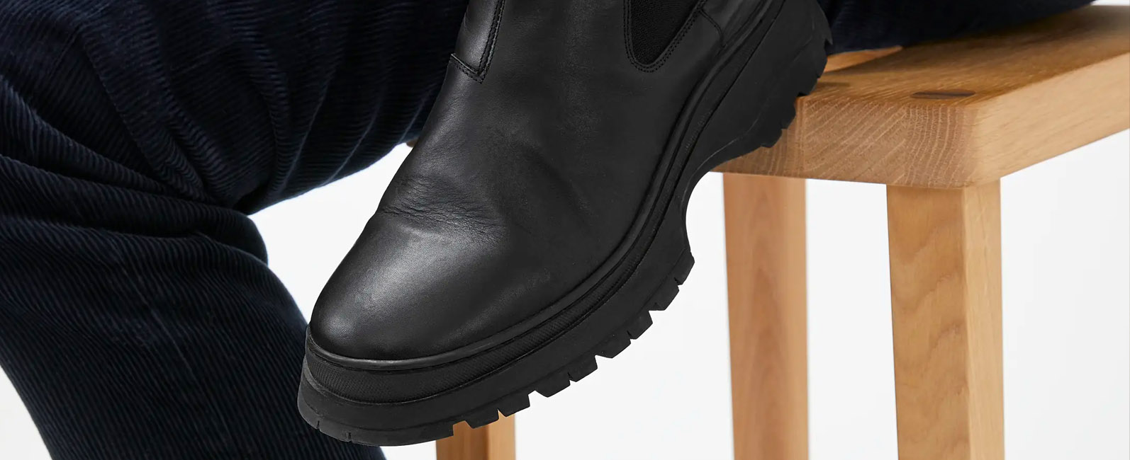Men's Chunky Sole Boots - Trending Now