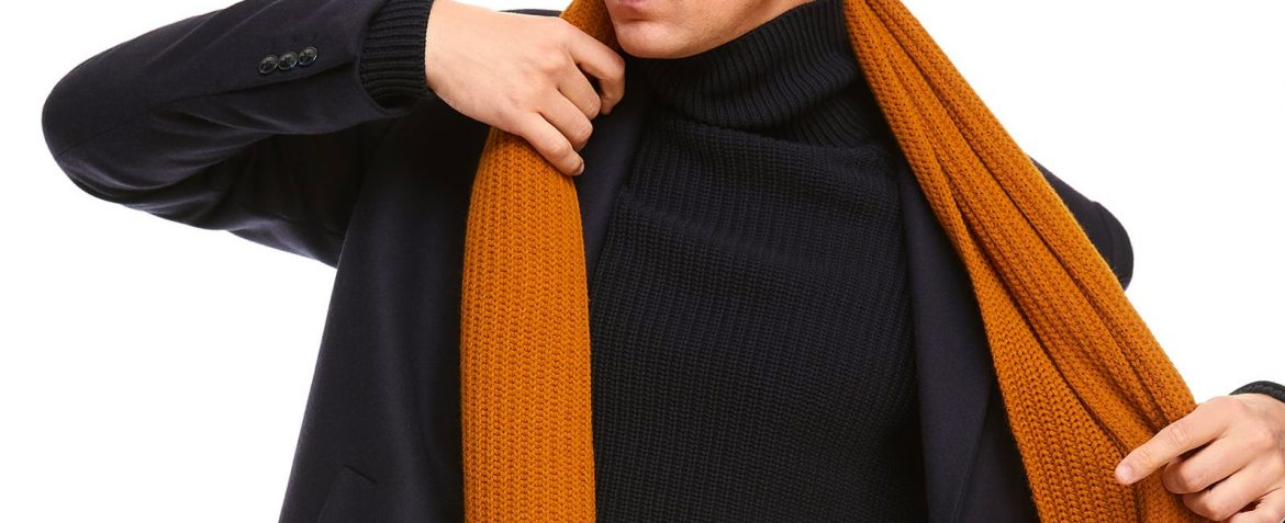 Mens Scarf Trends