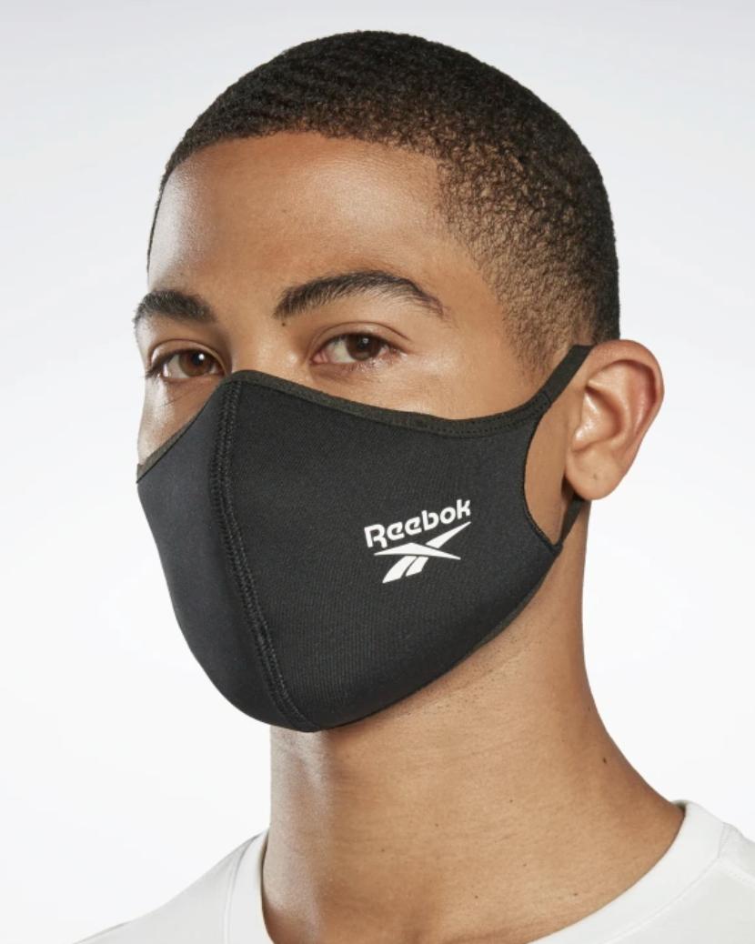fashionable face mask reebok