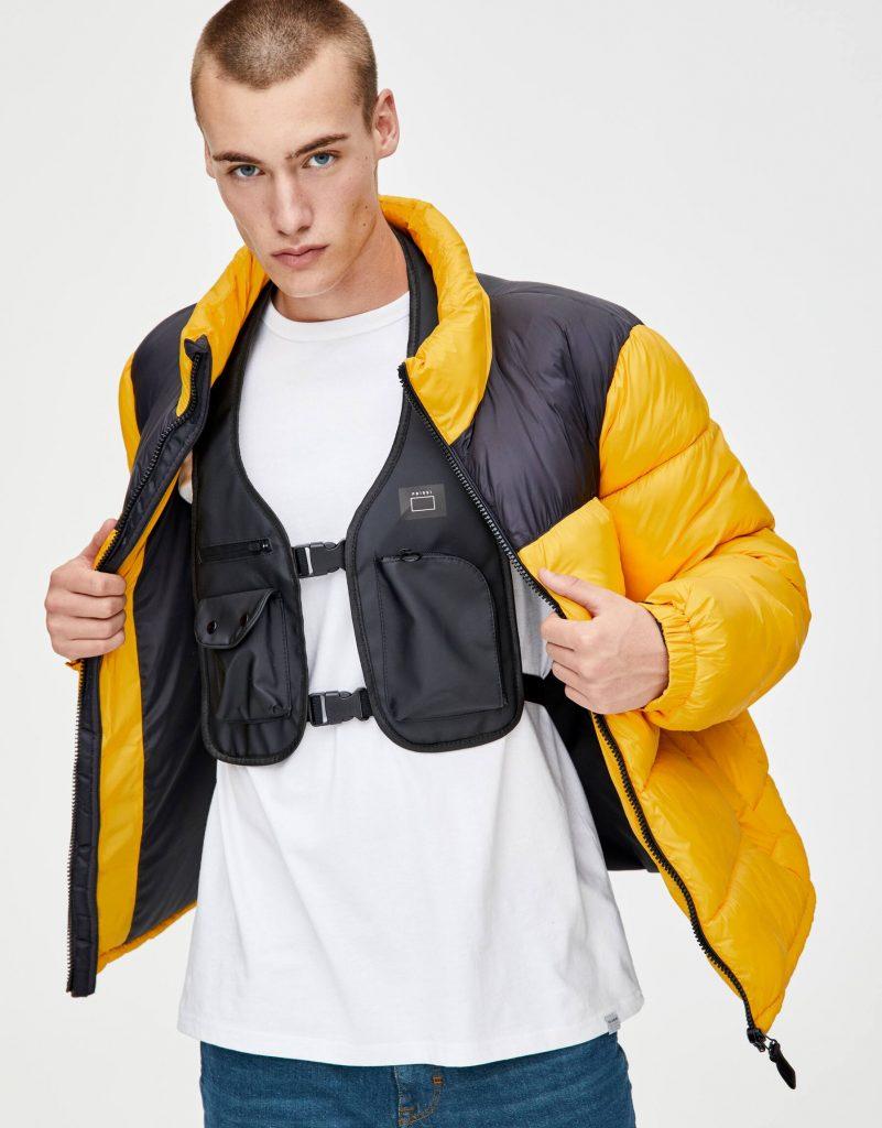 Black chest bag for men from Pill and Bear | Vanityforbes