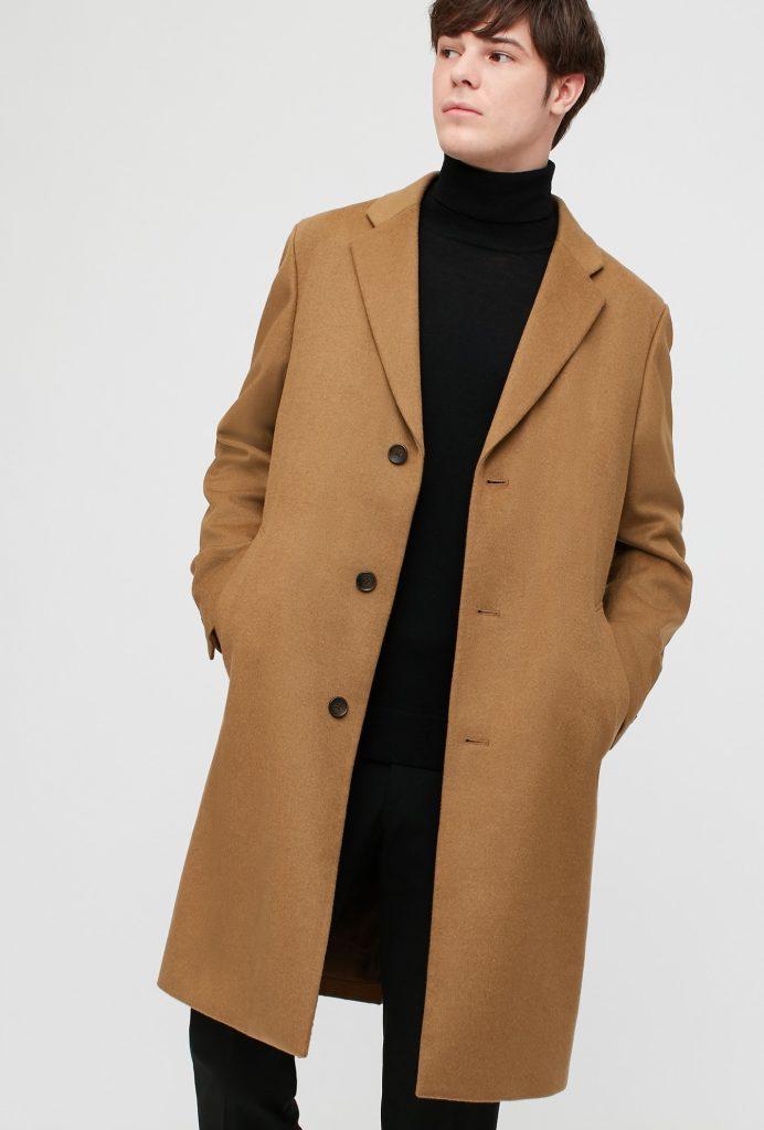 camel overcoat